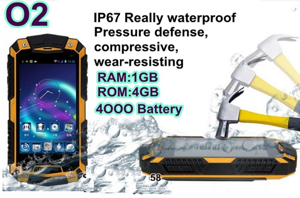 Image of odolný telefon O2 4jádrový procesor