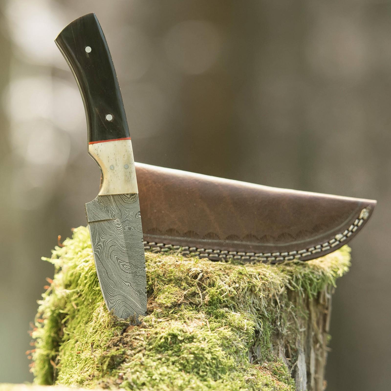 Lovecký nůž Buffalo Horn