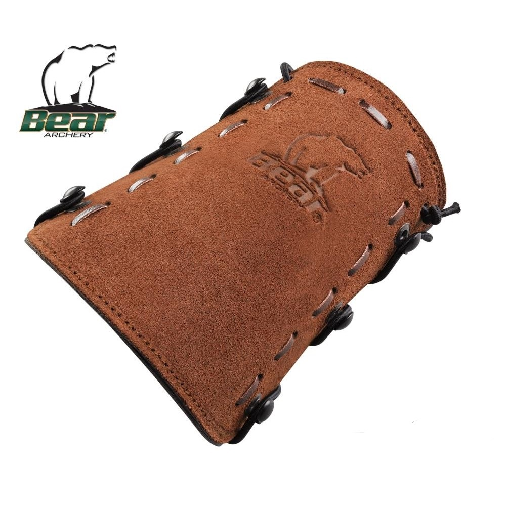 Chránič FRED BEAR ARCHERY - Tradiční Arm Leather