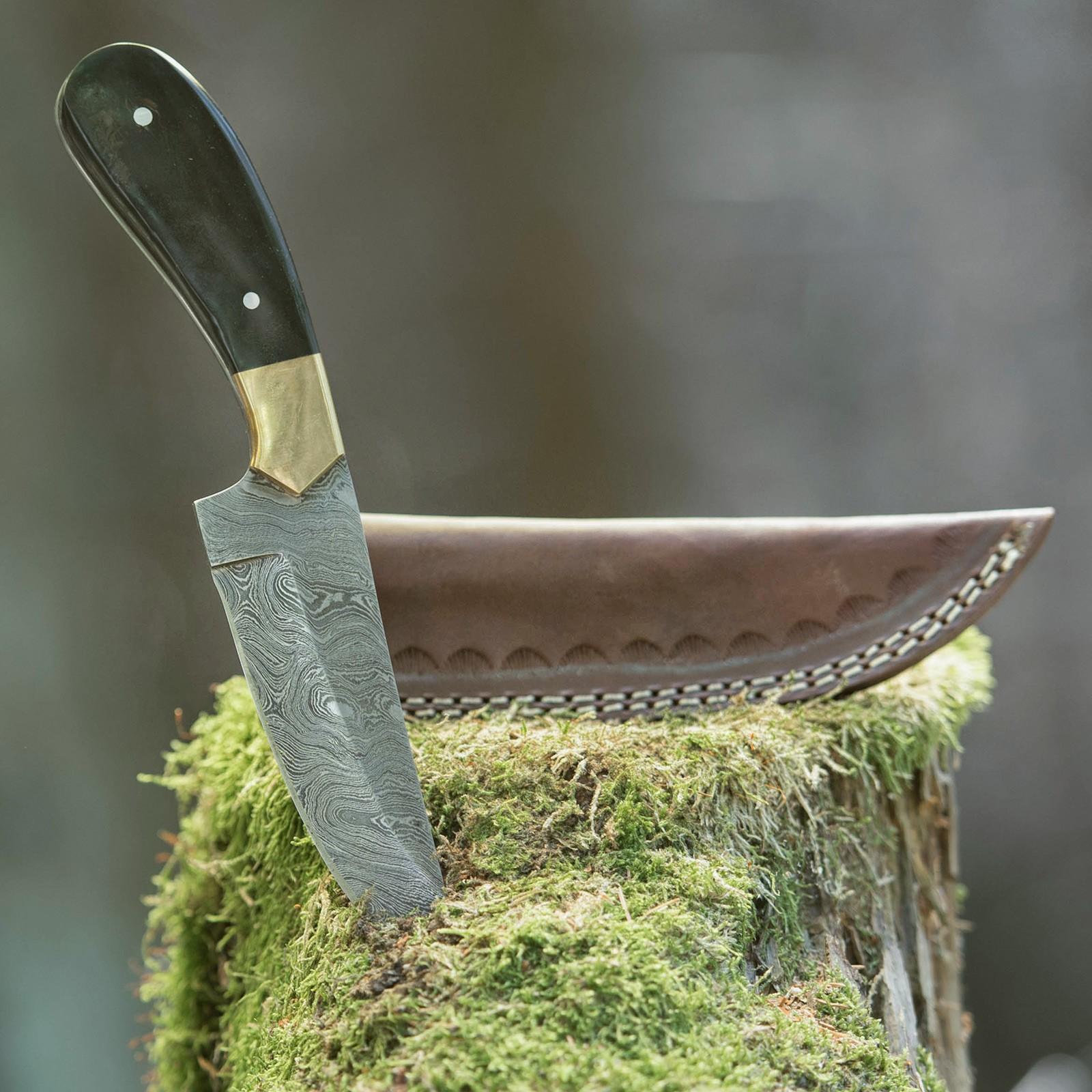 Lovecký nůž Brass Horn