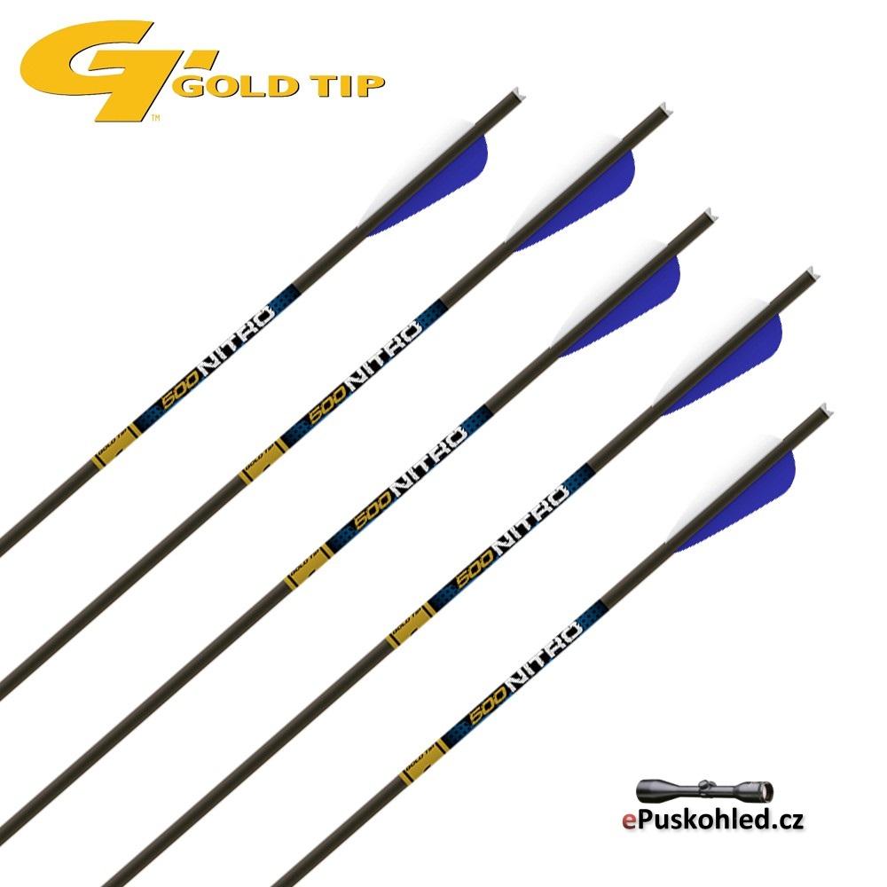 Šíp pro kuše GoldTip Nitro / Laser IV - Carbon - 12-22