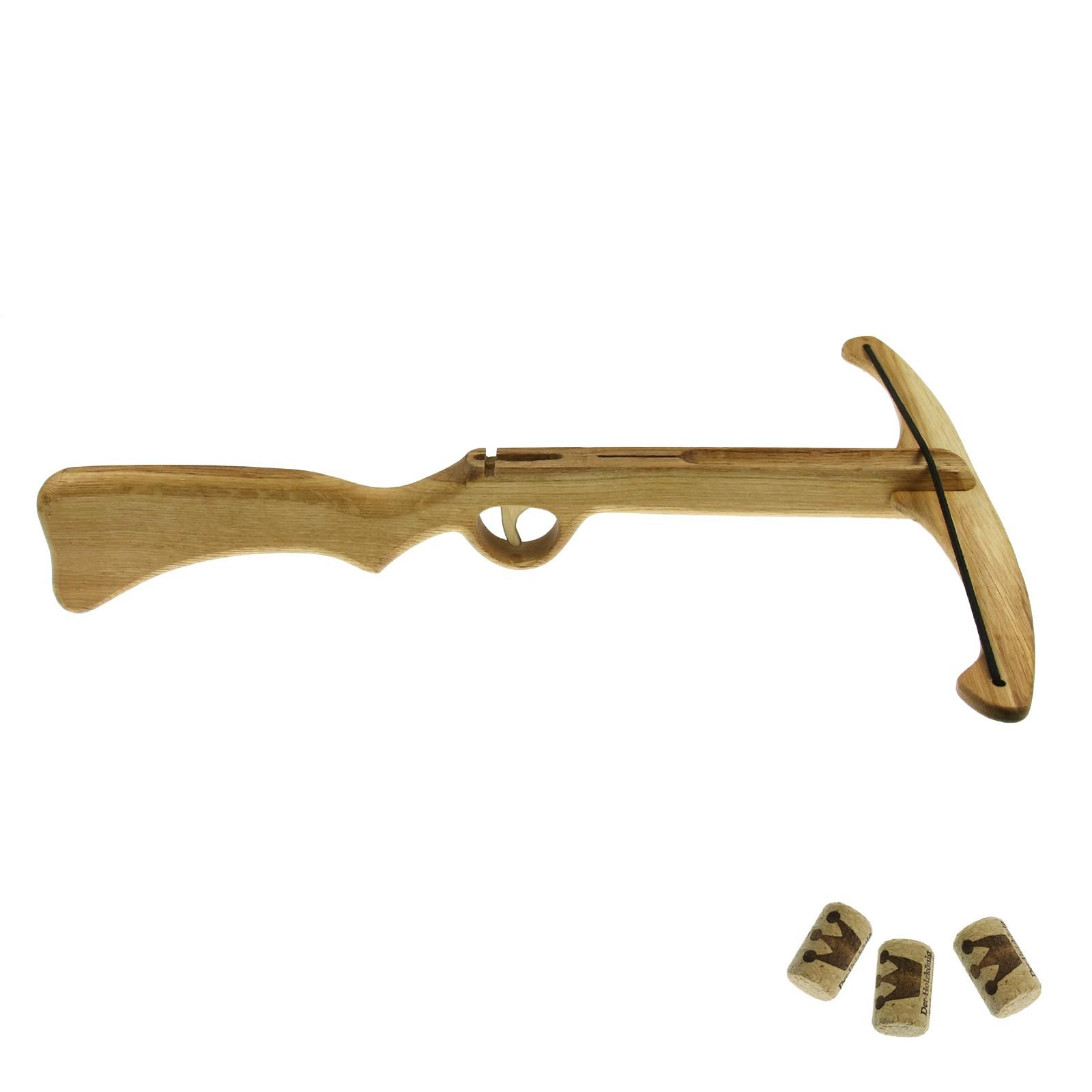 Dětská pistolová kuše na korkové špunty