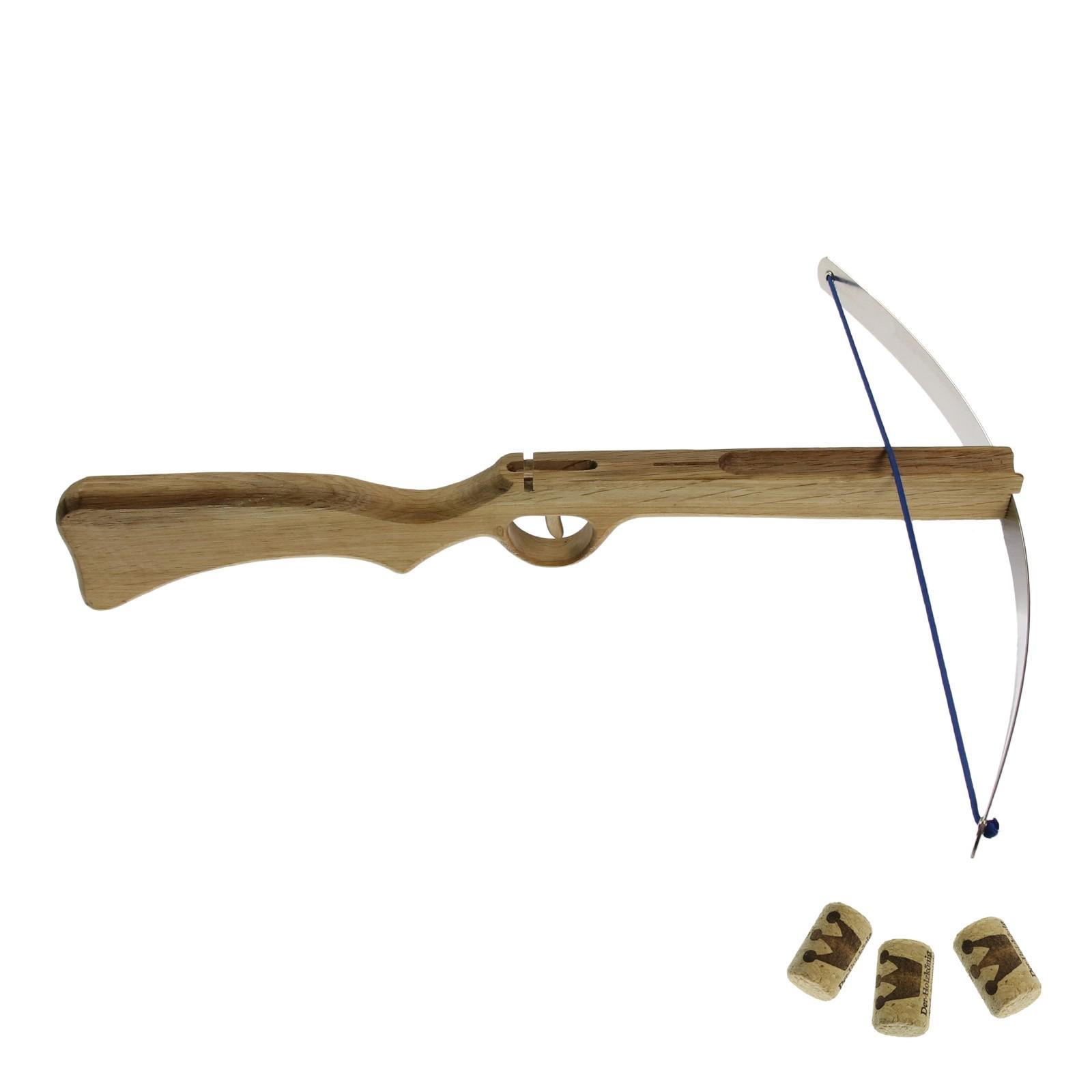 Dětská pistolová kuše na korkové špunty - velká