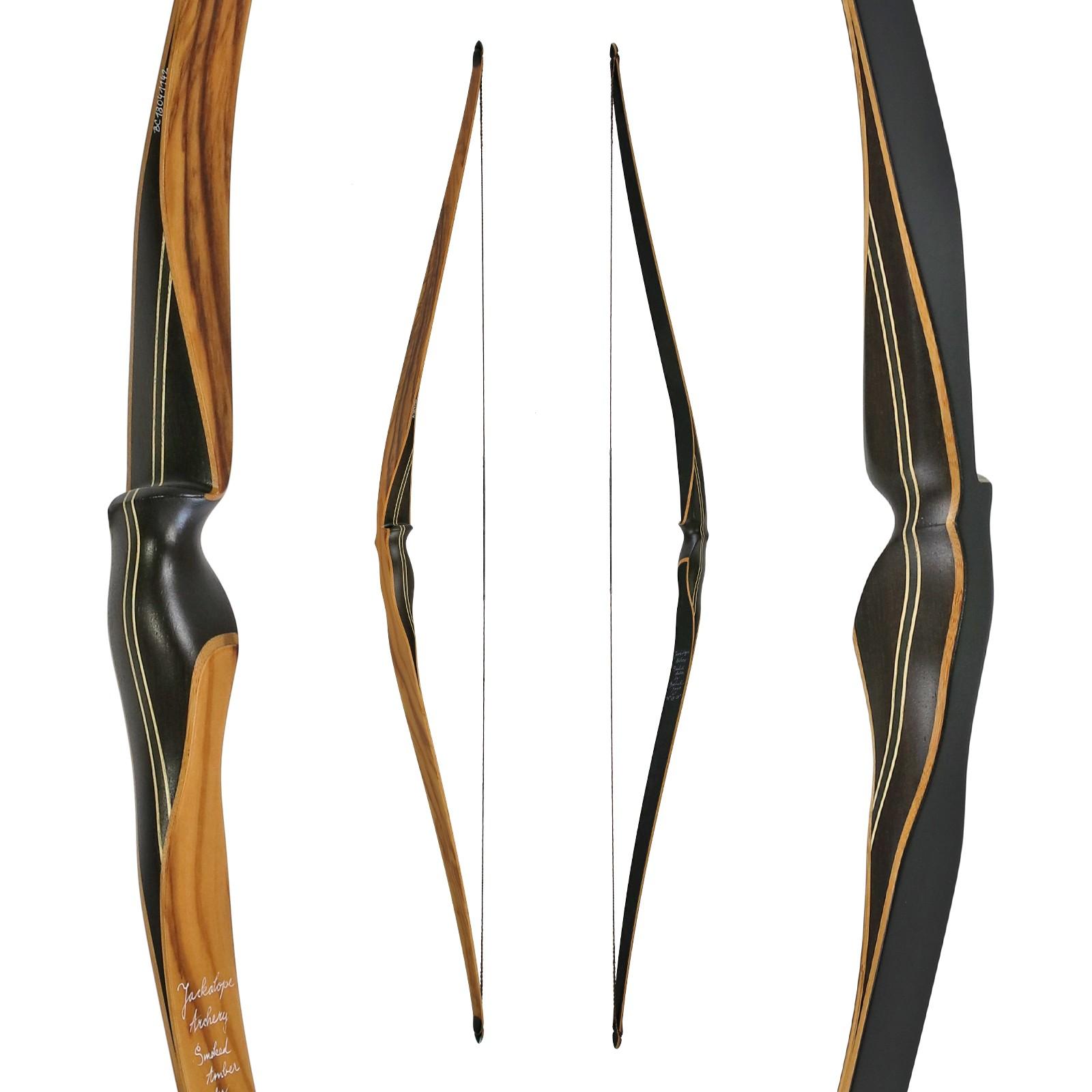 Jackalope od BODNIK  bows - smoked Amber - 60 centimetrů - 25-55 liber - hybridní luk
