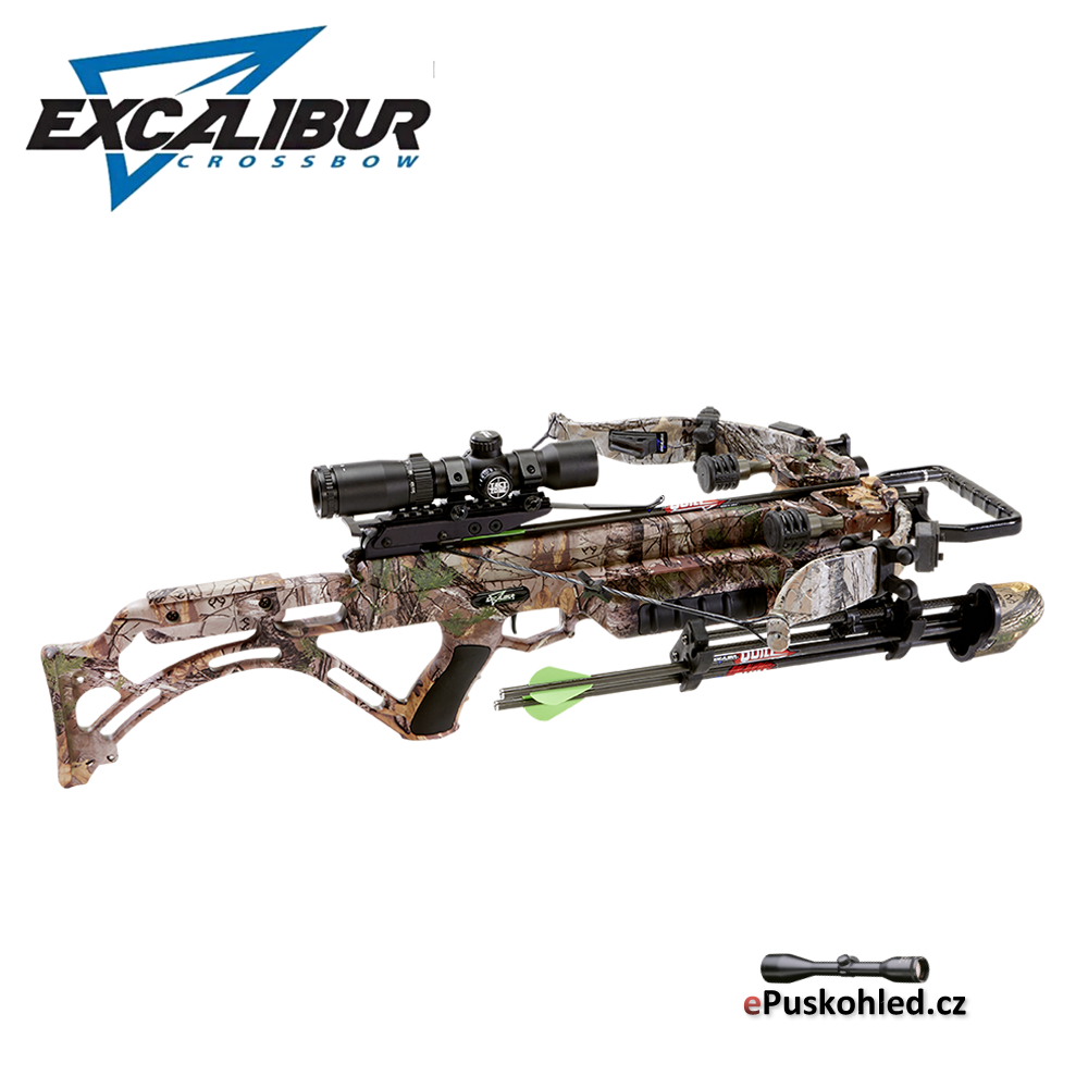 Kuše reflexní EXCALIBUR Micro Suppressor - 280 lbs / 343 fps