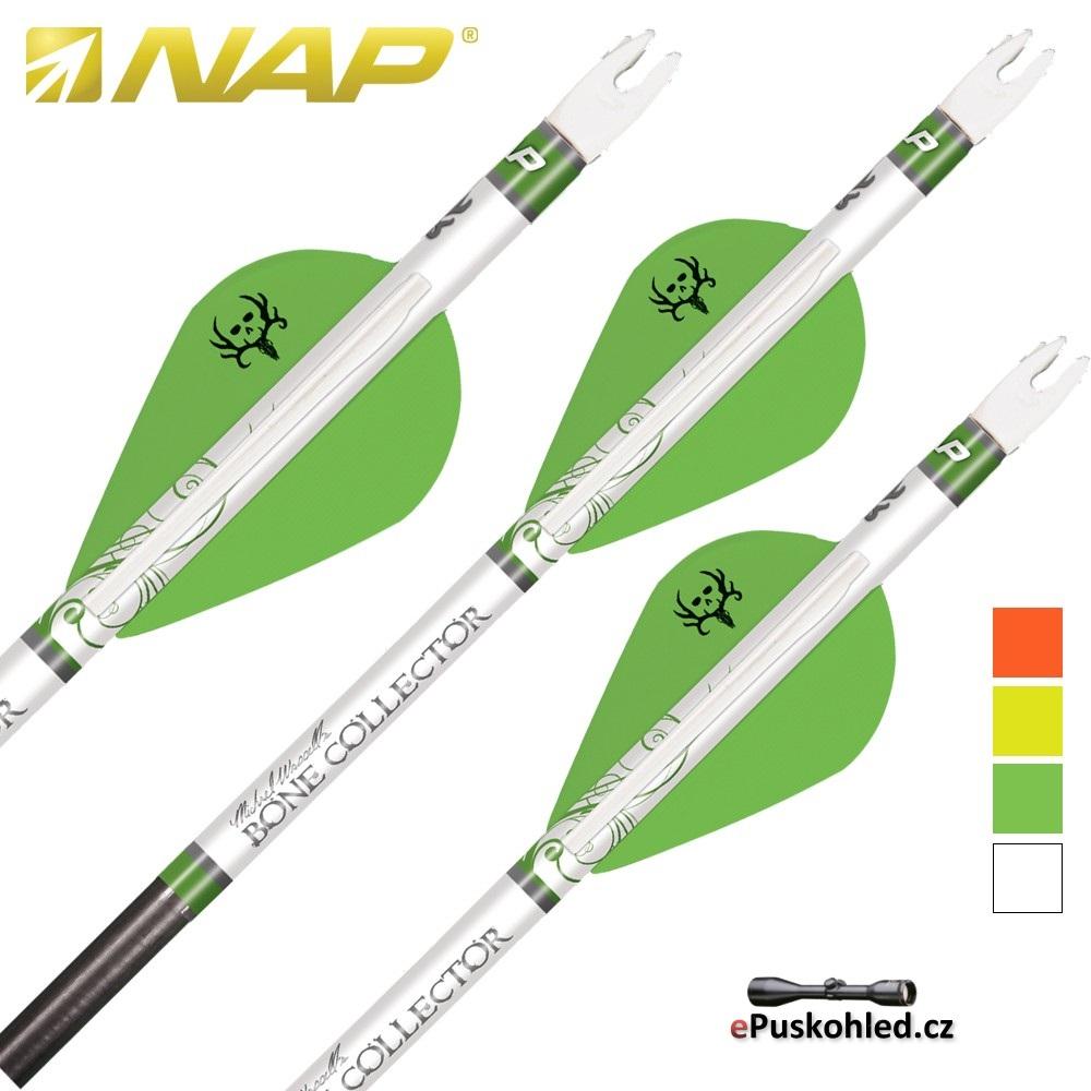 NAP letky Quikfletch Twister - různé barvy