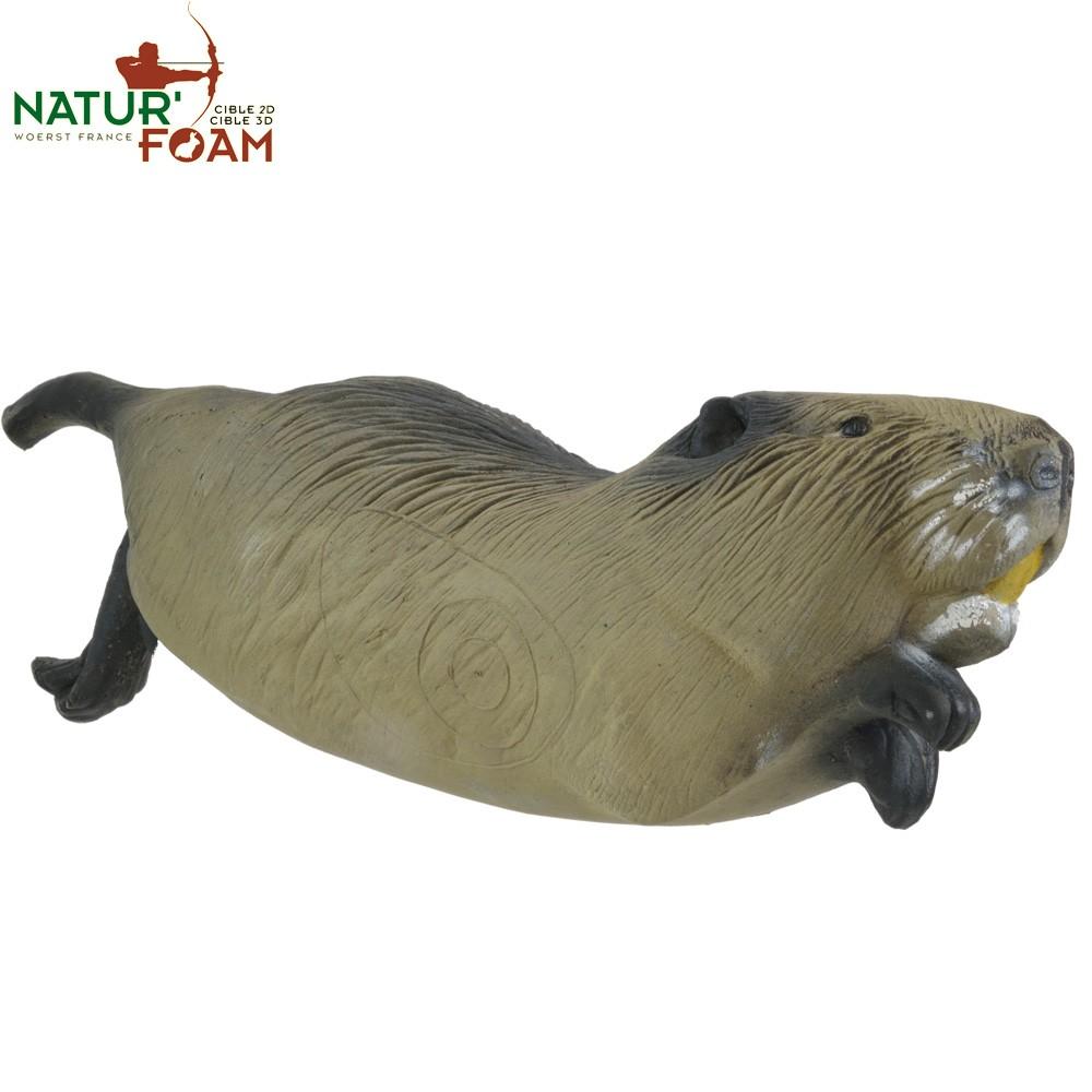 3D Terčovnice bežící bobr