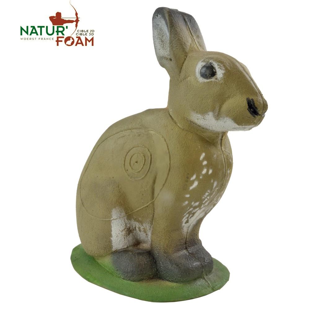 3D Terčovnice krčící se králík