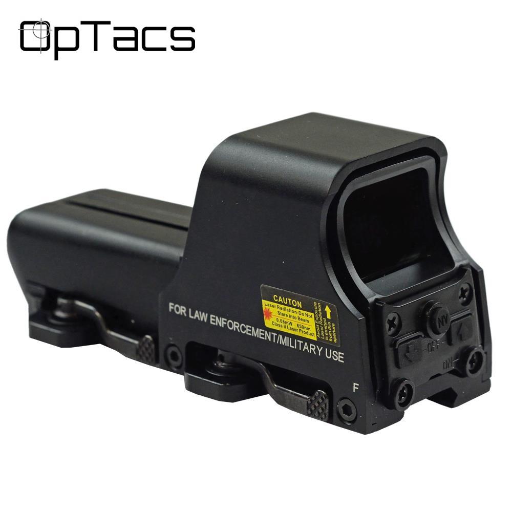 Kolimátor OPTACS Tactical 553 Graphic Sight - červená / zelená Dot
