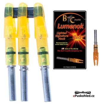 burt-coyote-lumenok-rot-leuchtende-nocke-3er-pack