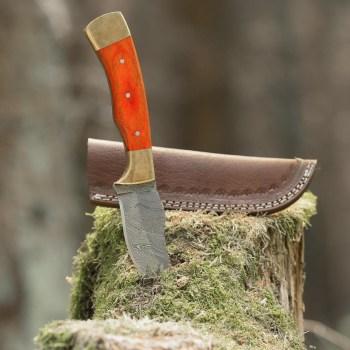 eltoro-double-brass-wood-damast-jagdmesser-10cm-inkl-lederscheide