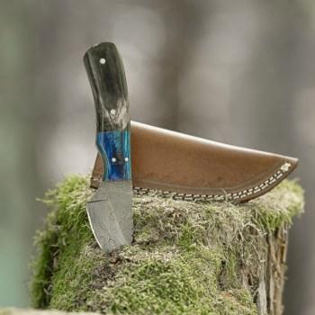 eltoro-wood-horn-damast-jagdmesser-7cm-inkl-lederscheide
