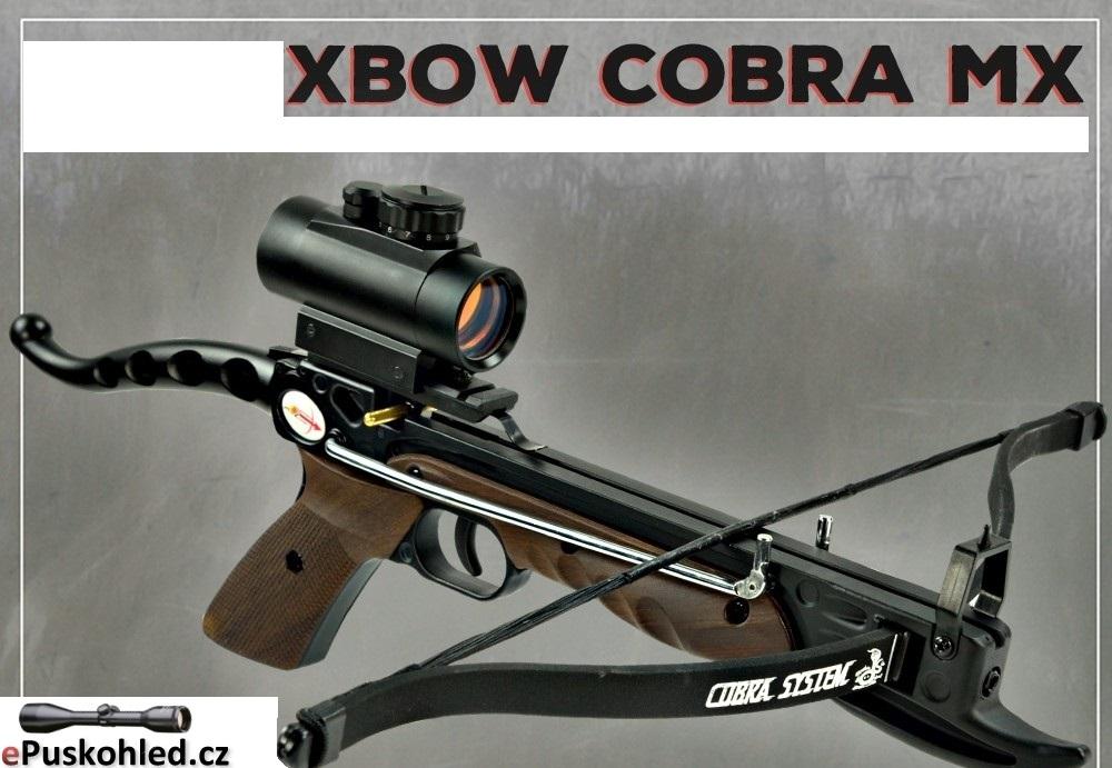 Kuše pistolová X-BOW COBRA MX - 80 lbs / 165 fps