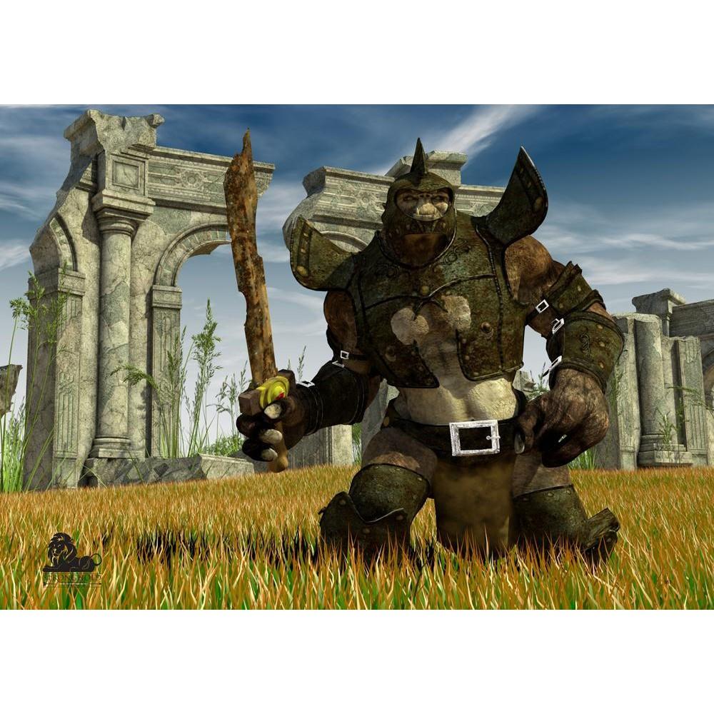 Terč Fantasy Edition Ork 4 - 59x84cm