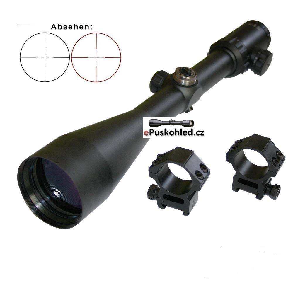 Puškohled MAJESTIC 2,5-10x56IR  (30mm Tube)