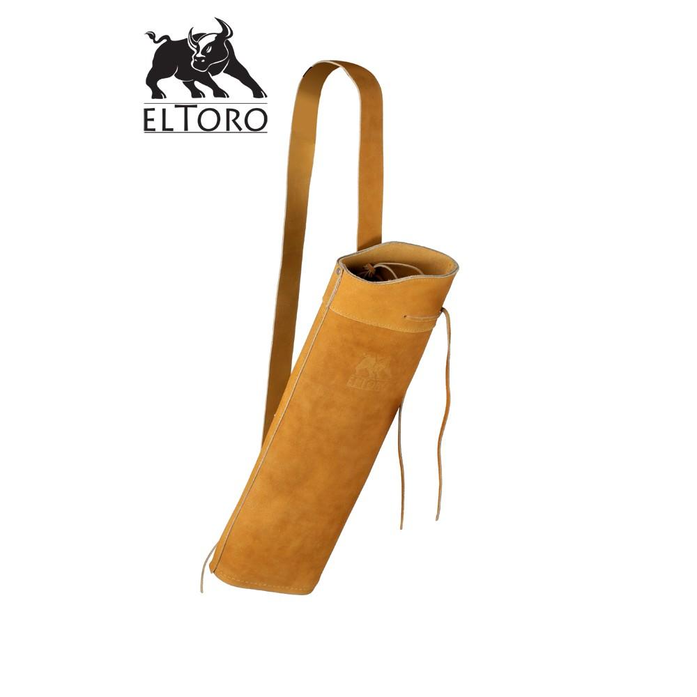 Toulec eltoro Backquiver Tradiční semišovy - světlý