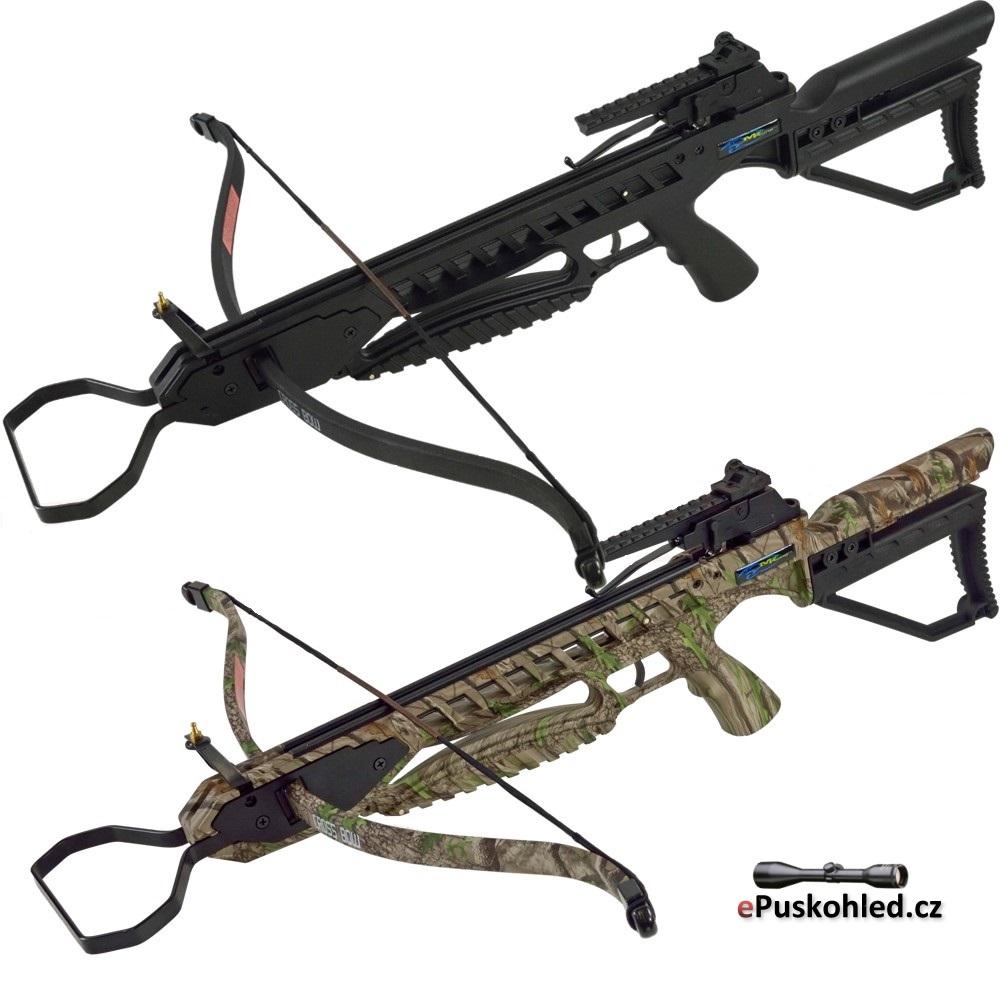 Reflexní kuše X-BOW Black Spider - 175 lbs / 245 fps