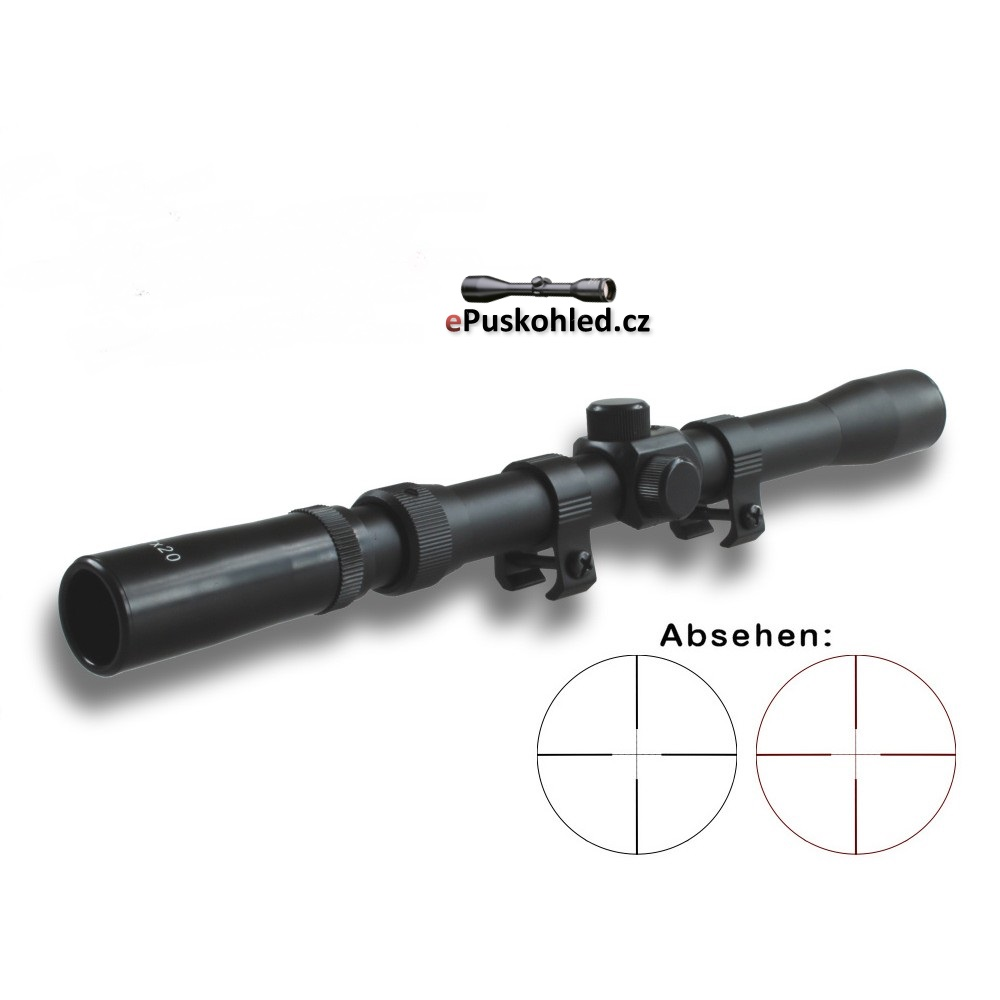 Puškohled X-Scope 3-7x20